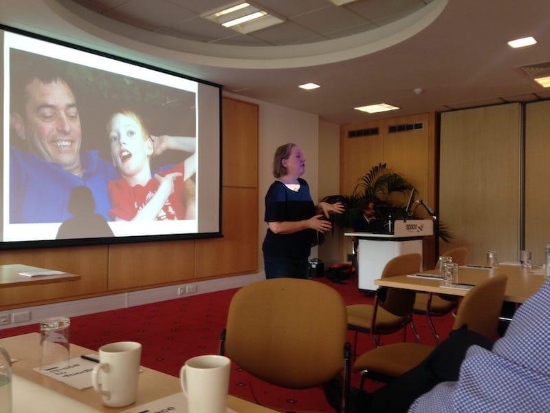 Rosi Reed presenting