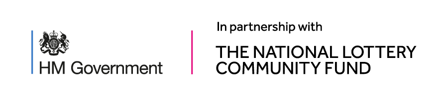 The project is in partnership with the National Lottery Community Fund and HM Government.