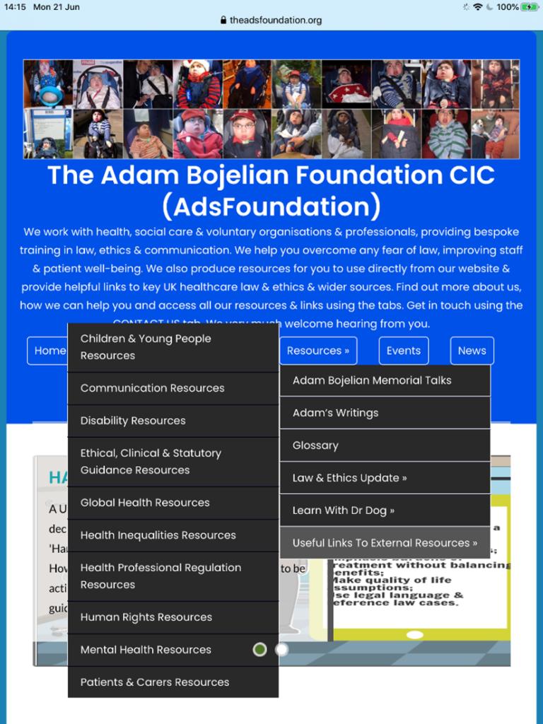 The Adam Bojelian Foundation CIC